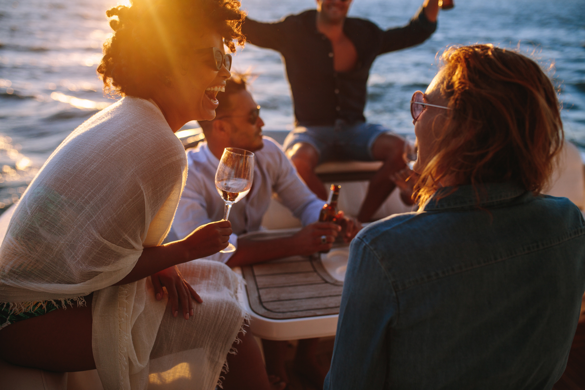 Why Choose Staying Afloat for Your Party Boat Rental – Fire